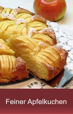 Feiner Apfelkuchen - einfach und lecker
