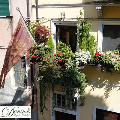 Venedigs Balkone und Gärten