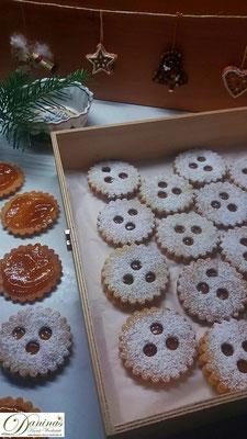 Traditionelle österreichische Weihnachtsbäckerei: Ischler Kekse (Plätzchen), Konditor Rezept by Daninas Dad.