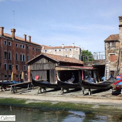 Venedig Gondelwerft Squero di San Trovaso