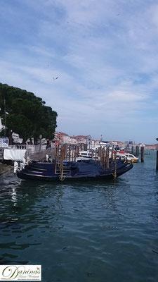 Venedig San Marco Gondeln