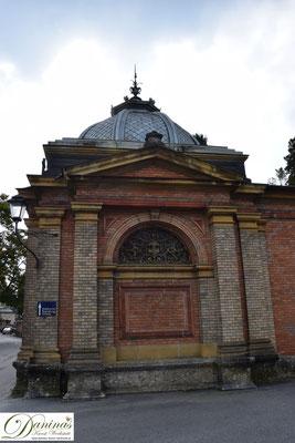 Von kulturhistorischer Bedeutung: Das Mauerwerk des einzigartigen Salzburger Kommunalfriedhofs.