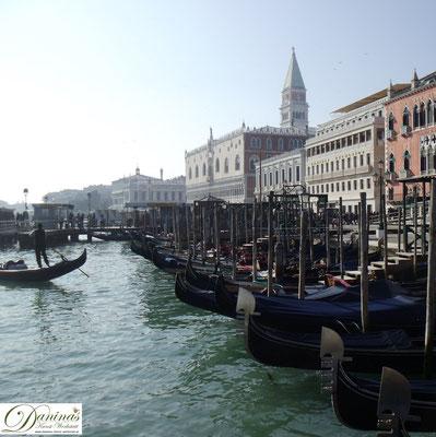 Venedig San Marco - Gondeln