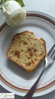 Einfaches Nusskuchen Rezept. Englischer Teekuchen Konditor-Rezept by Daninas Dad.