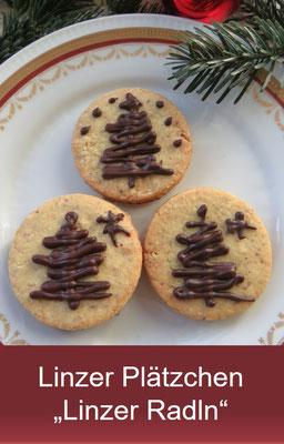 Linzer Plätzchen - Weihnachtsbäckerei