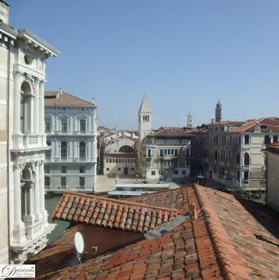 Venedigs Dächer - Campo San Samuele