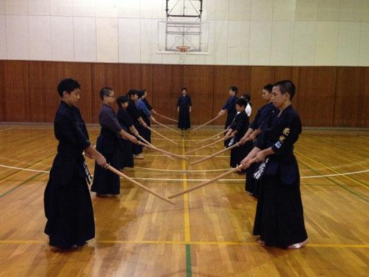 剣道 形の稽古