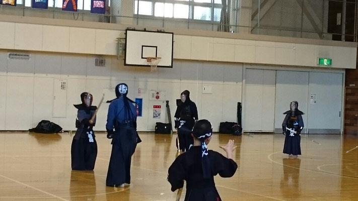 小学生剣士