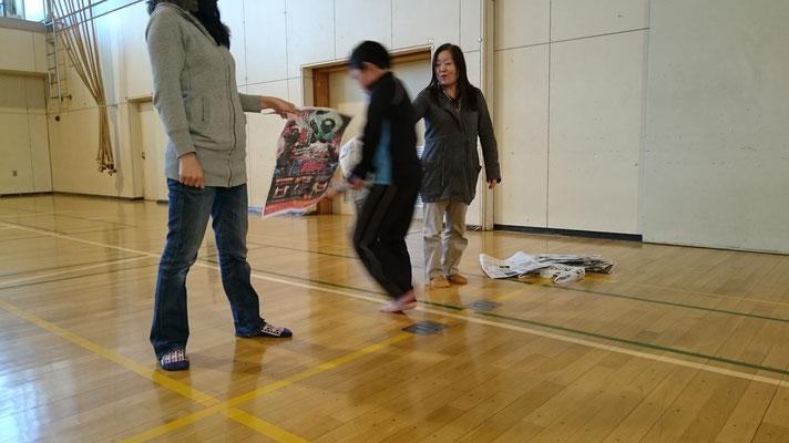 剣道体験 新聞切り