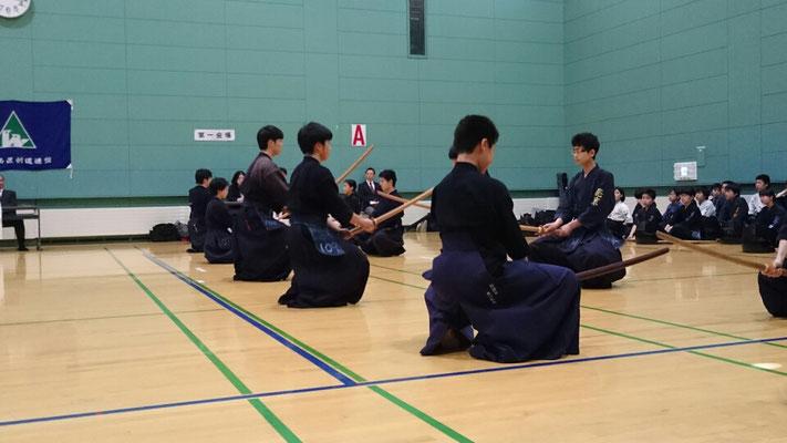 剣道形の審査