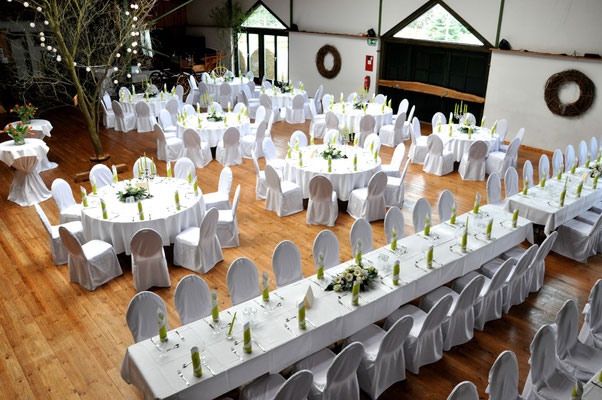 "Impression Event-Halle ""Rustica"" | Winterfelder Hof"
