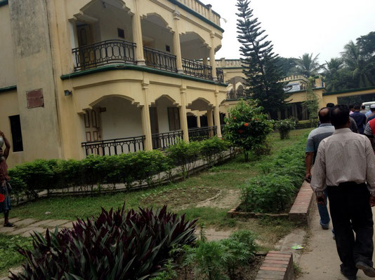 Mongla Hotel (zum Mittagessen)