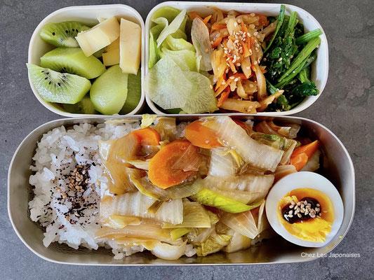 八宝菜弁当 Happōsai Bento