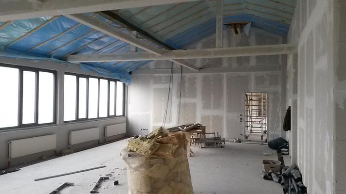Ein Blick in unser neues, großes Lehrerzimmer. (24.11.2016)