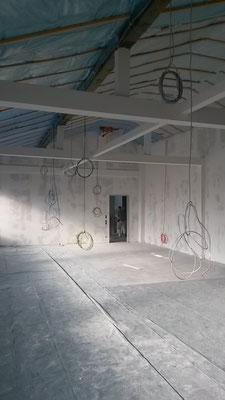 Das neue Lehrerzimmer.