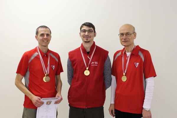 Wr. Landesmeister 2015 Mannschaft Männer