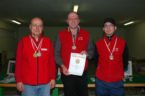 Wr. LM 2011 LP1 Landesmeister Männer und 2. Platz MSch
