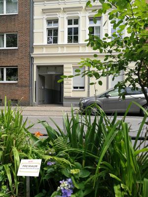 Eingang Vorderhaus zum Hof