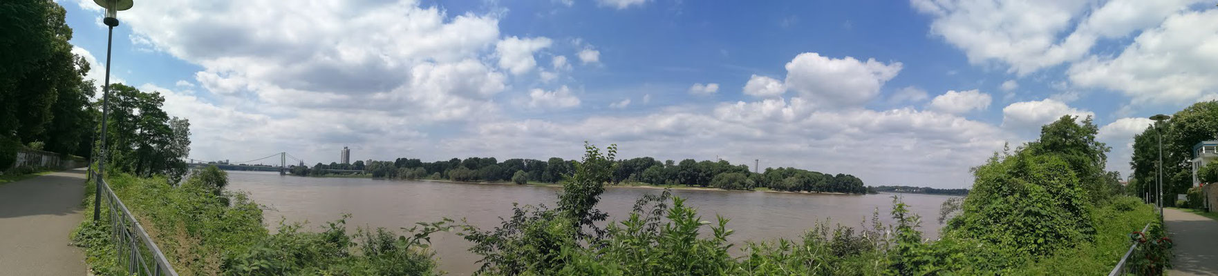 Für schöne Spaziergänge direkt in Rheinnähe
