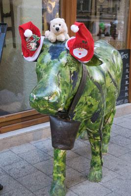 Ole im Advent in Budapest auf der Weihnachtskuh