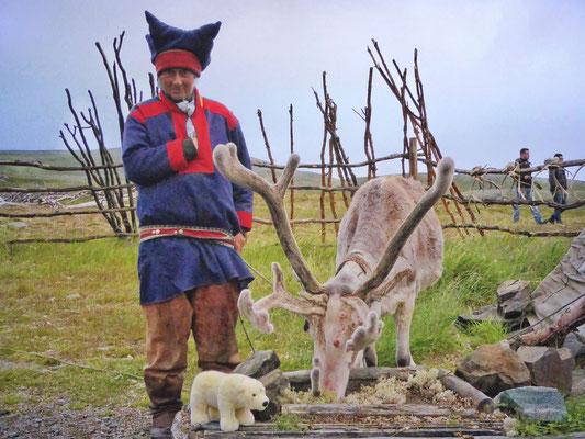 Besuch bei den Lappen in Norwegen