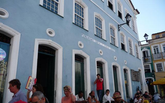 Der berühmte Schriftsteller Jorge Armado wohnte bis zu seinem Tod in diesem Haus.