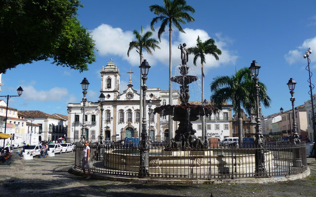 Auf dem Platz Praçada Piedade fanden frühen übelste Auspeitschungen und Hinrichtungen statt.
