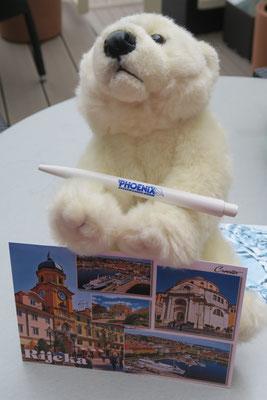 Ole schreibt auch Postkarten