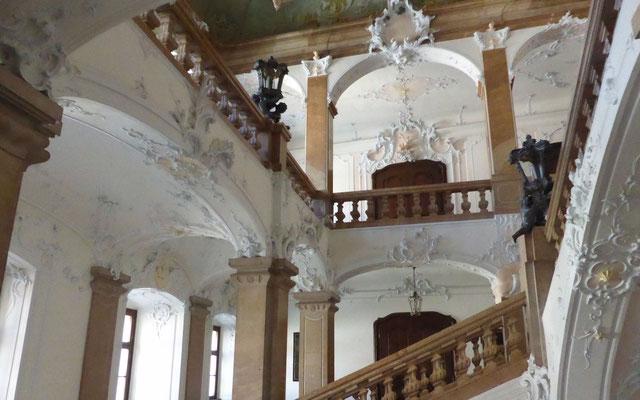 Der Aufgang zum Domschatzmuseum