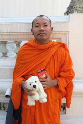 Ole im Tempel in Bangkok