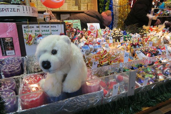Ole auf dem Wiener Weihnachtsmarkt