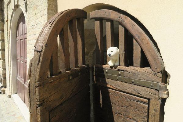 Ole sitzt hinter Gittern in Ancona, aber die Tür ist offen.