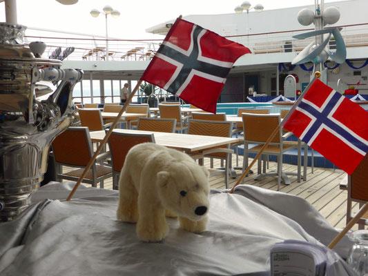 Ole ist in Norwegen.