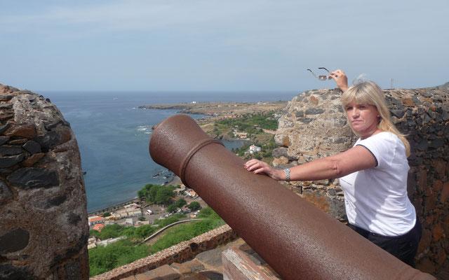 Die Zitadelle war zur Kolonialzeit mit Kanonen schwer befestigt.