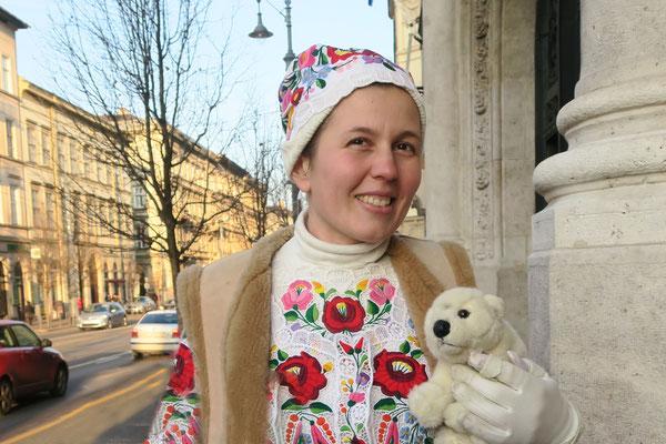 Ole mit Piroschka in Budapest