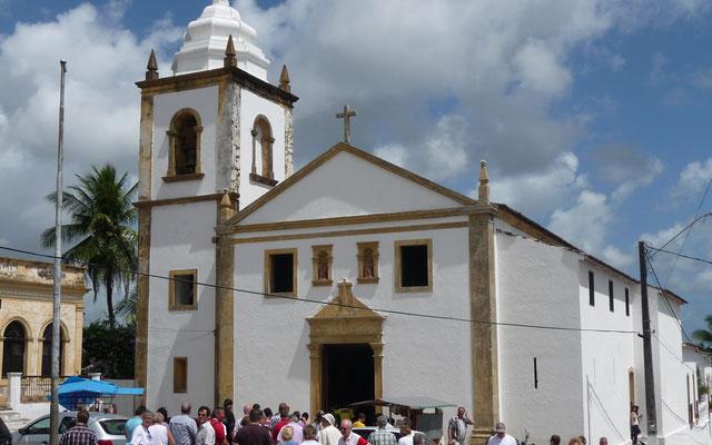 Kirchenbesuche gehören in Südamerika zum Pflichtprogramm
