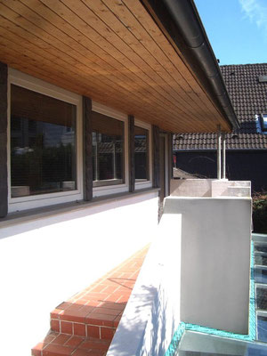Die sonnige Terrasse