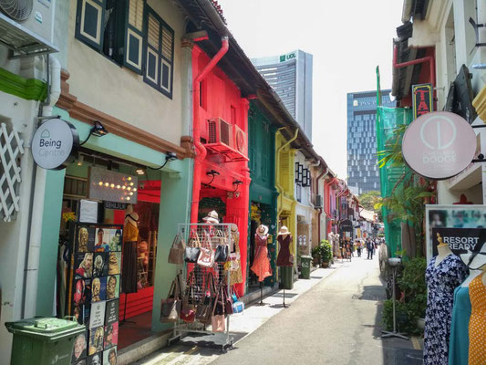 SINGAPORE - Kampong Glam Haji Lane (Photo by Gabriele Ferrando - LA MIA ASIA)