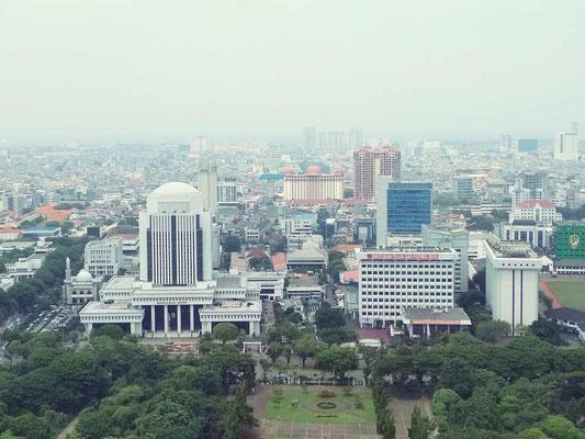 Monas, il monumento all'indipendenza. Centro di Jakarta (Photo by Gabriele Ferrando - LA MIA ASIA)