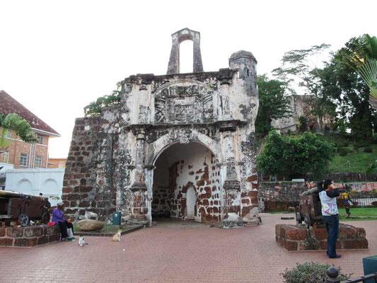 Malacca, Porta de Santiago (Photo by Gabriele Ferrando - LA MIA ASIA)