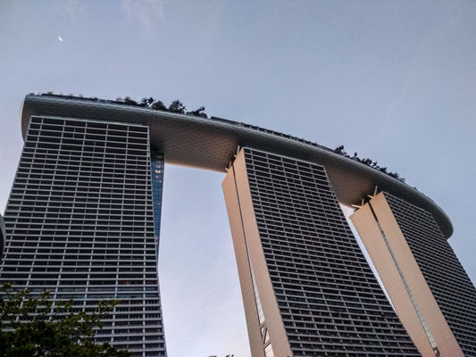 Marina Bay Sands, Singapore (Photo by Gabriele Ferrando - LA MIA ASIA)