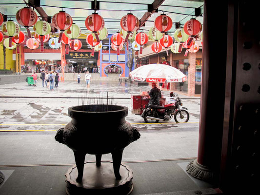 Scorcio di Chinatown a Singapore (Photo by Gabriele Ferrando - LA MIA ASIA)