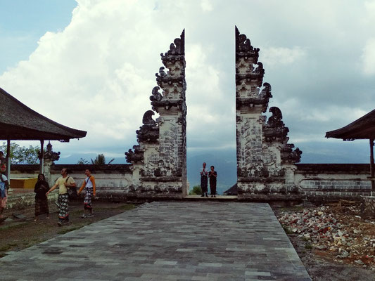 Porte del Paradiso al tempio di Lempuyang
