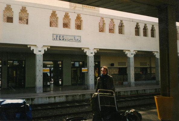 Stazione di Fes - Marocco