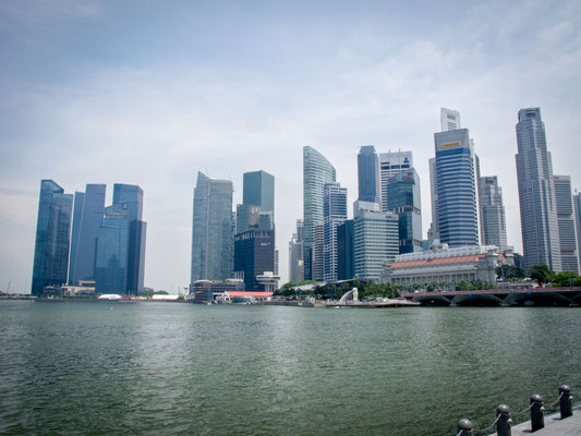 SINGAPORE - Marina Bay Skyline (Photo by Gabriele Ferrando - LA MIA ASIA)