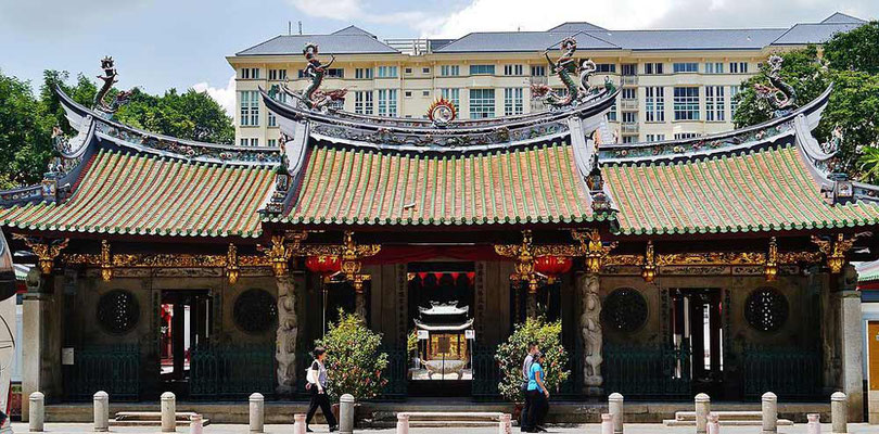 Thien Hock Keng Temple a Chinatown, Singapore (Photo by Zairon)