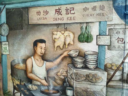 Murales a Tiong Bahru, Singapore (Photo by Gabriele Ferrando - LA MIA ASIA)