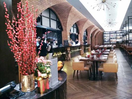 Brasserie 25, ristorante dell'Hotel Stripes Kuala Lumpur (Photo by Gabriele Ferrando - LA MIA ASIA)