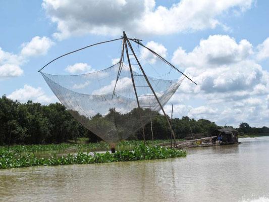 Rete da pesca. (Photo by Gabriele Ferrando - LA MIA ASIA)