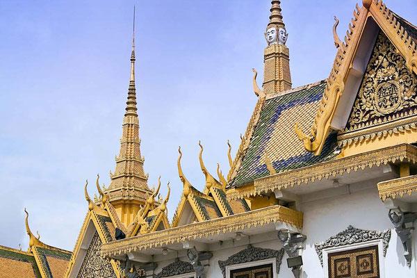 Viaggio di Gruppo in Cambogia - Palazzo Reale di Phnom Penh